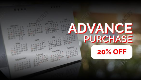 Advance Purchase Offer: Save Additional 20% – Book Early!