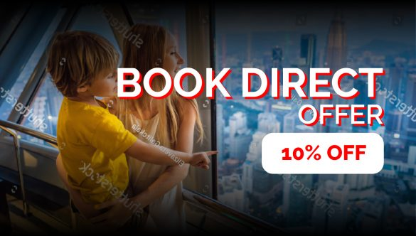 Early Bird catches the worm! Enjoy discount up to additional 10% off standard rates